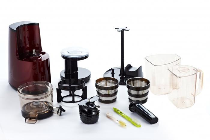 hurom hg notre test de l 39 extracteur de jus vertical. Black Bedroom Furniture Sets. Home Design Ideas